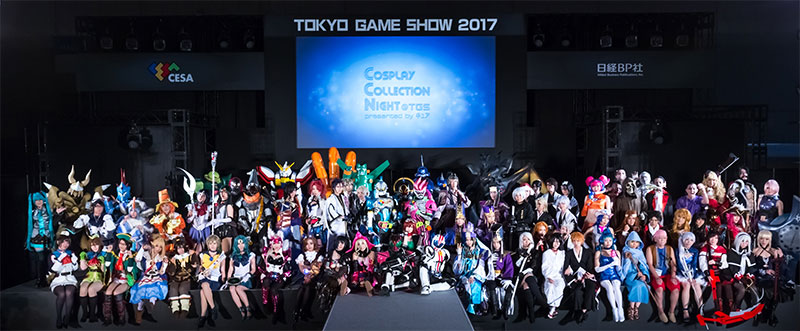 CosplayCollectionNight@TGS2018 参加コスプレパフォーマンスチーム募集