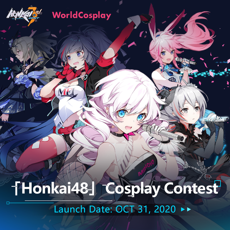 miHoYo's hit game Honkai Impact 3 and WorldCosplay announce collaboration!